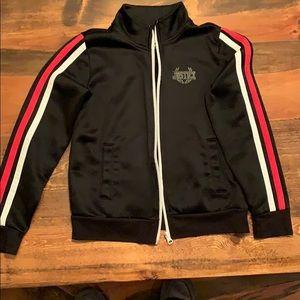Girls justice full zip jacket